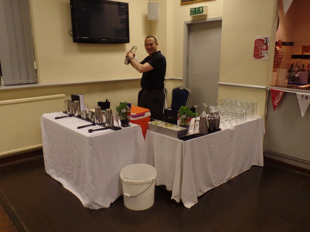 Cocktail Demonstration Evening in Macclesfield
