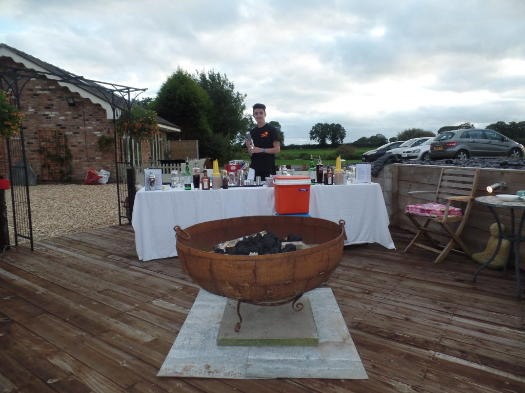 Cocktail Demonstration in Tushingham