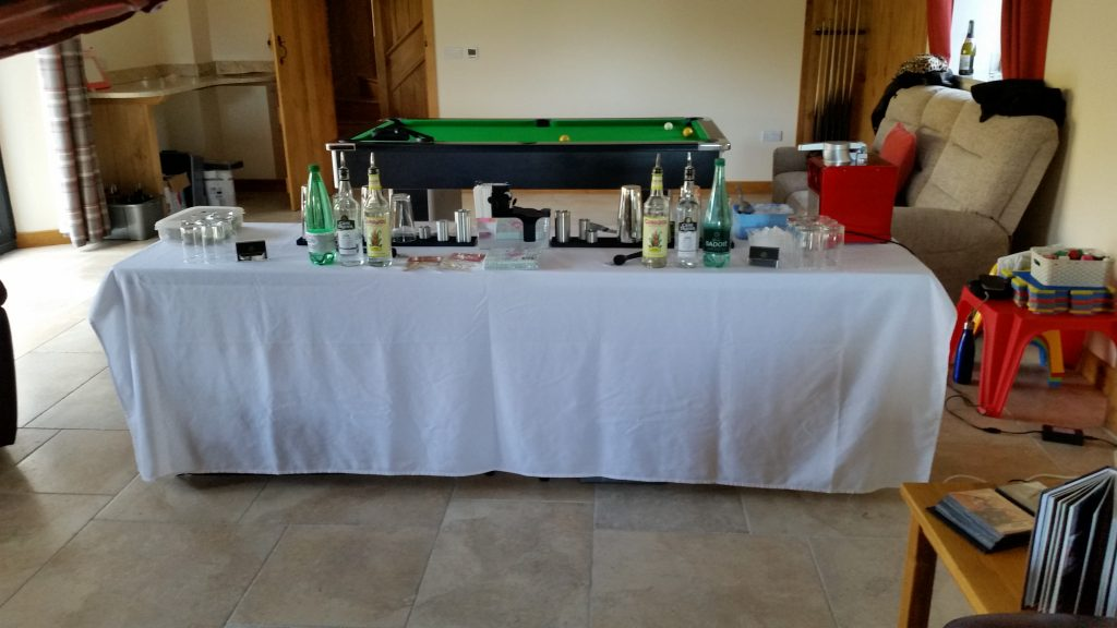 Cocktail Demonstration for Hen Party in Ruthin