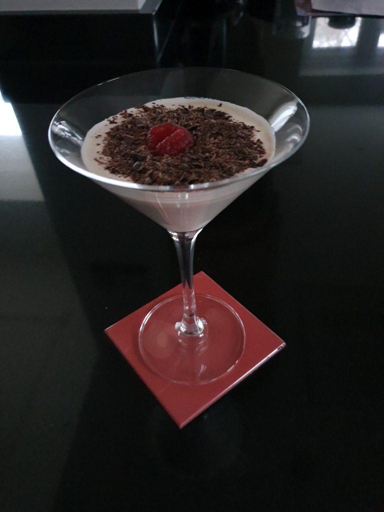 Raspberry Chocolate Martini-Cocktail