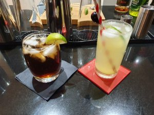 Lemon Drizzle and Cuba Libre Cocktails