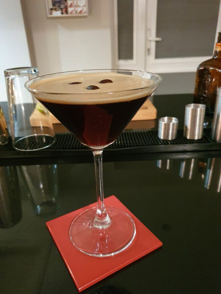 Espresso Martini-Cocktail